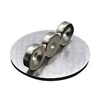16x4 mm (7/4mm) Havþalý Delikli Neodyum Mýknatýs Metrik 7/4