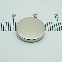 12x2 mm Yuvarlak Güçlü Neodyum Mýknatýs (Çap 12 mm Kalýnlýk 2 mm)