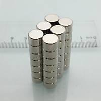 8x5 mm Yuvarlak Güçlü Neodyum Mýknatýs (Çap 8 mm Kalýnlýk 5 mm)