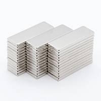 30x10x2 mm Dikdörtgen Neodyum Mýknatýs Boy 30mm En 10mm Kalýnlýk 2mm