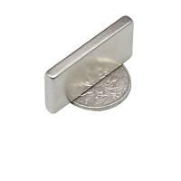 40x15x5 mm Dikdörtgen Neodyum Mýknatýs Boy 40mm En 15mm Kalýnlýk 5mm