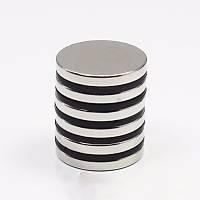 22x2,5 mm Yuvarlak Güçlü Neodyum Mýknatýs Çap 22mm Kalýnlýk 2,5mm