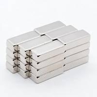 20x8x5 mm Dikdörtgen Neodyum Mýknatýs Boy 20mm En 8mm Kalýnlýk 5mm