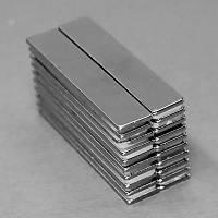 50x10x1,5 mm Dikdörtgen Neodyum Mýknatýs Boy 50mm En 10mm Kalýnlýk 1,5mm