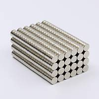 6x3 mm Yuvarlak Güçlü Neodyum Mýknatýs (Çap 6 mm Kalýnlýk 3 mm)