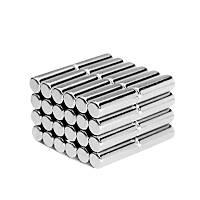 5x15 mm Yuvarlak Güçlü Neodyum Mýknatýs (Çap 5 mm Kalýnlýk 15 mm)