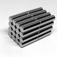 6X25 mm Yuvarlak Güçlü Neodyum Mýknatýs (Çap 6mm Kalýnlýk 25mm)