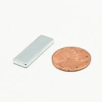 25x8x2 mm Dikdörtgen Neodyum Mýknatýs Boy 25mm En 8mm Kalýnlýk 2mm