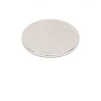15x1 mm Yuvarlak Güçlü Neodyum Mýknatýs (Çap 15 mm Kalýnlýk 1 mm)