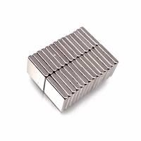 10x10x2 mm Dikdörtgen Neodyum Mýknatýs Boy 10mm En 10mm Kalýnlýk 2mm