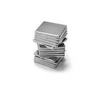 10x10x1 mm Dikdörtgen Neodyum Mýknatýs Boy 10mm En 10mm Kalýnlýk 1mm