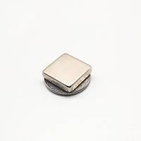20x20x5 mm Kare Neodyum Mýknatýs; Boy 20mm  En 20mm Kalýnlýk 5mm