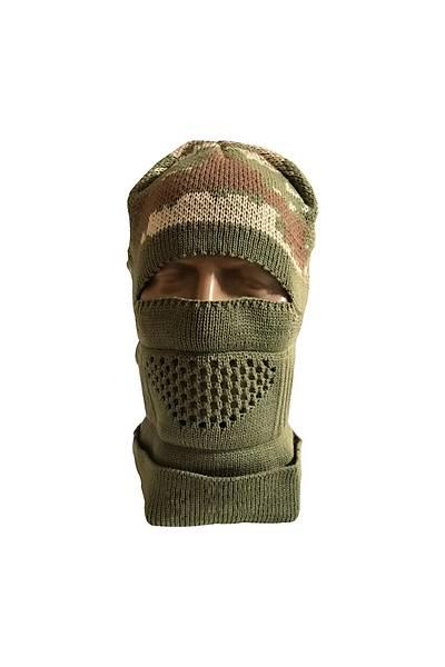 Askeri Kamuflaj Kar Maskesi