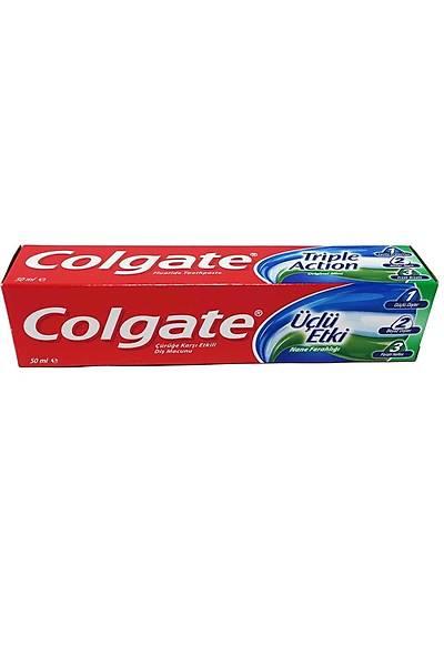Colgate Diþ Macunu 3'lü Etki 50 ml.