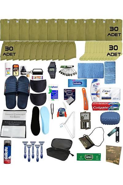 30'lu Lüx Bedelli Asker Paketi - Bedelli Acemi Asker Malzemeleri Seti