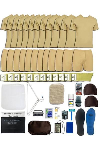 12'li Temel Asker Seti: Bedelli/Acemi Yazlýk Askeri Malzeme Paketi