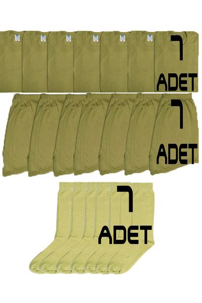7'li Asker Çamaþýr Paketi