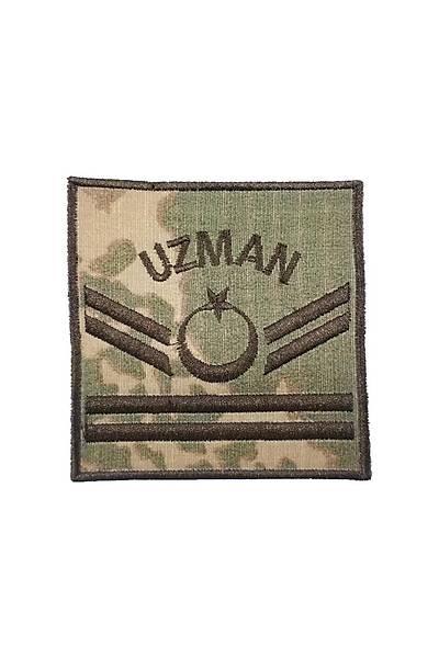Jandarma Kamuflaj Çift Kýdemli Uzman Çavuþ Rütbe Çiftli
