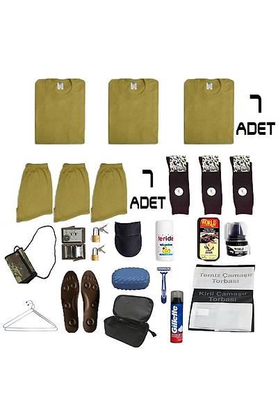 7'li Temel Jandarma Acemi Asker Paketi:Bedelli Acemi Askeri Malzeme Seti