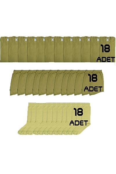 18'li Asker Çamaþýr Paketi