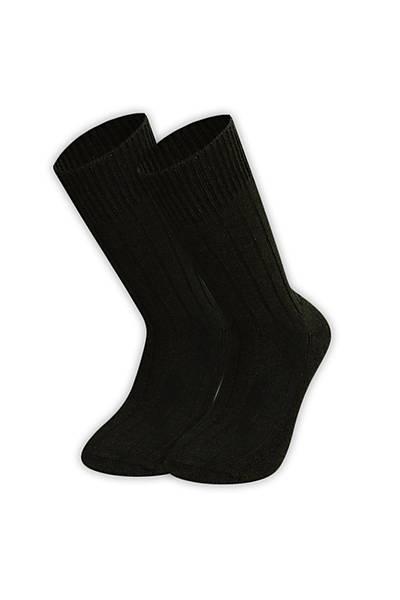 Kýþlýk Askeri Siyah Çorap
