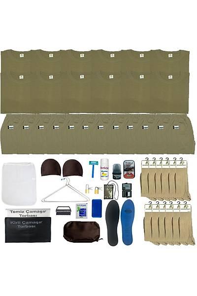 12'li Temel Askeri Malzeme Paketi; Bedelli-Acemi Asker Seti