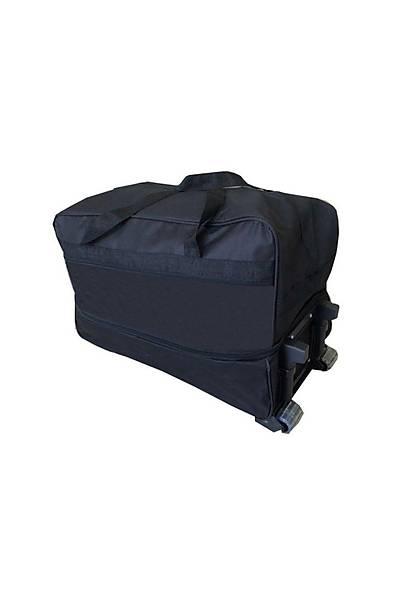 Çekçekli - Tekerlekli Mega Boy Valiz - Bavul 150 Litre