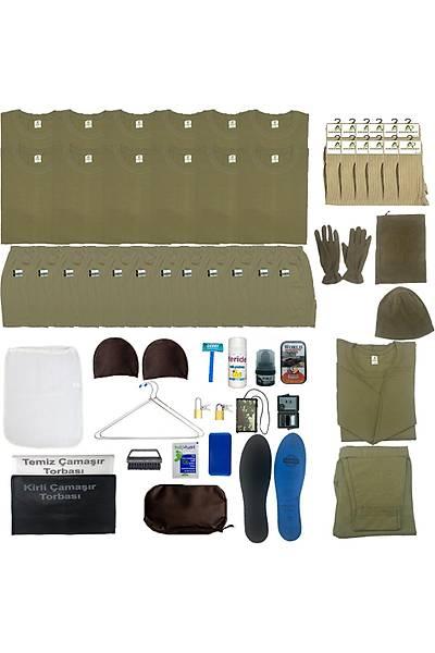 12'li Temel Askeri Malzeme Paketi: Bedelli Asker Malzeme Ýhtiyaç Seti