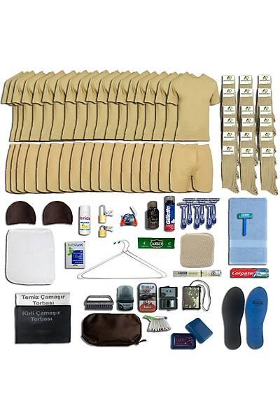 18'li Tavsiye Asker Seti: Bedelli Acemi Askeri Malzeme Paketi