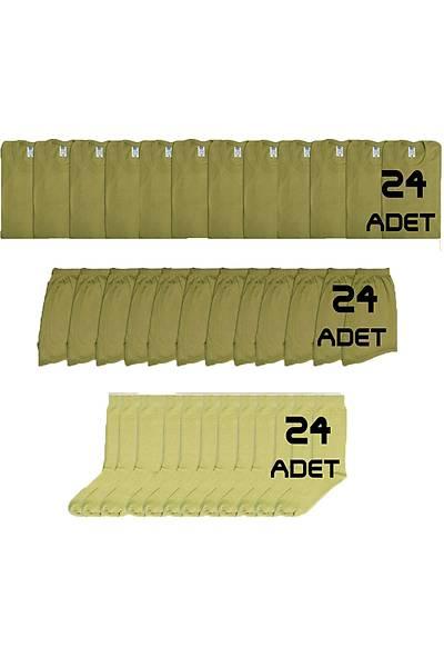 24'lü Asker Çamaþýr Paketi