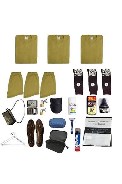 3'lü Temel Jandarma Acemi Asker Paketi