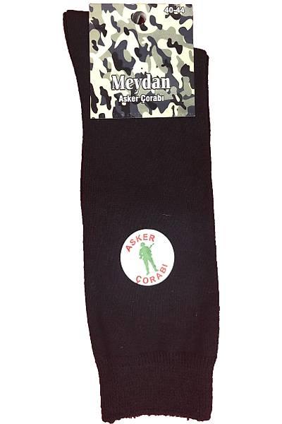 Askeri Bot Çorabý Yazlýk Siyah Çorap