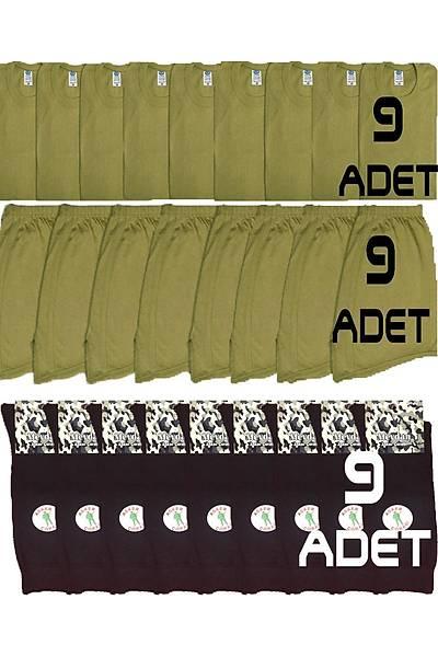 9'lu Jandarma Çamaþýr Paketi