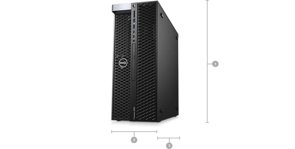 Dell 5820 Aðýrlýk ve boyutlar