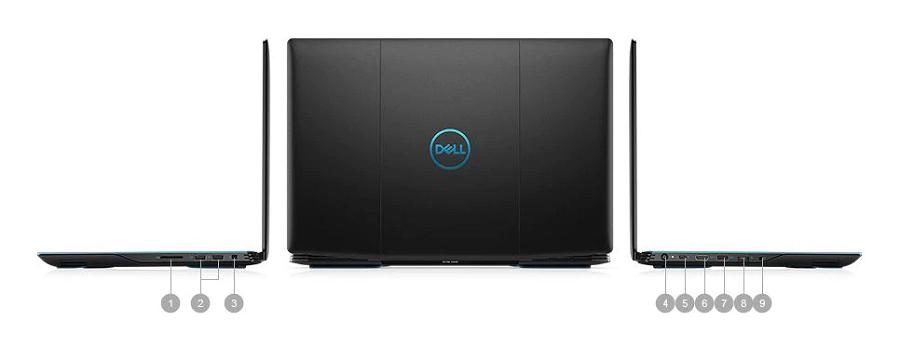 Dell G3 15 Baðlantý Noktalarý ve Yuvalar