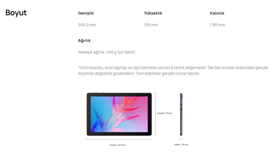 Huawei Mediaped T 10