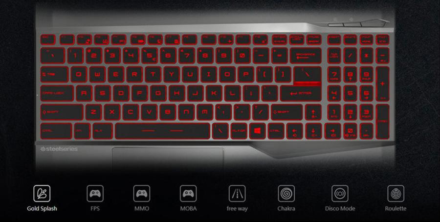 MSI Alpha 15 Klavye