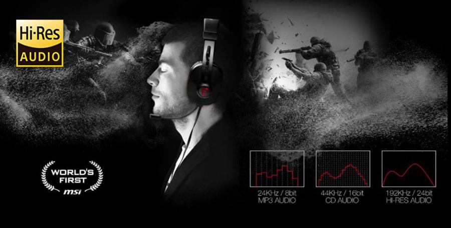 MSI Alpha 15 Yüksek Çözünürlüklü Ses