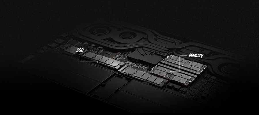 MSI GS66 Geniþletilebilir SSD ve bellek yuvalarý