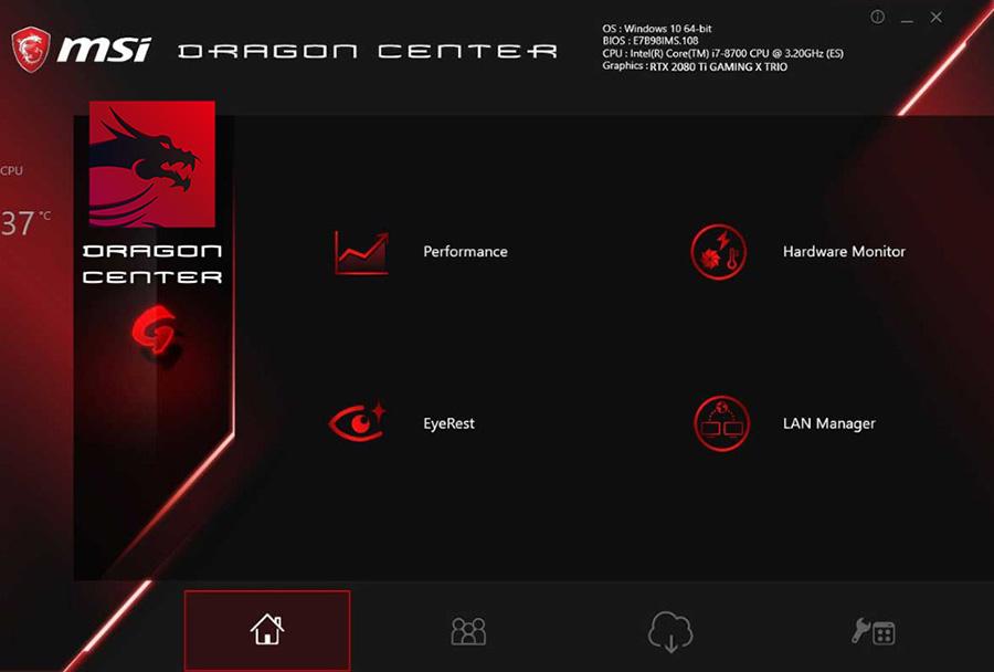 MSI Dragon Center