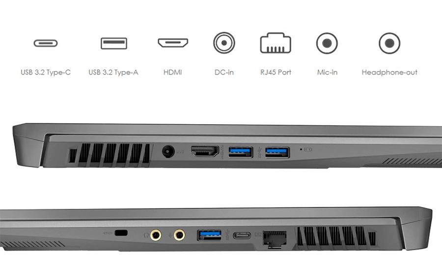 MSI Workstation USB-A ve USB-C portlarý