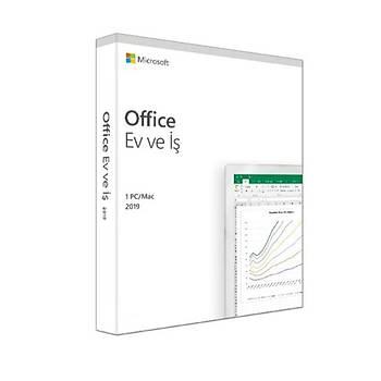 Microsoft Office 2019 Home and Business Türkçe Kutu (T5D-03258)