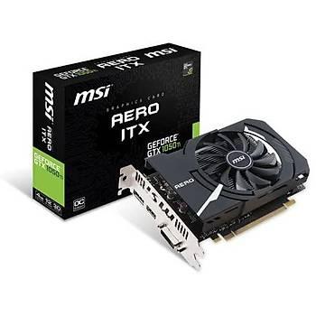 MSI GeForce GTX 1050 TI AERO ITX 4G OCV1 4GB GDDR5 128 Bit Ekran Kartý