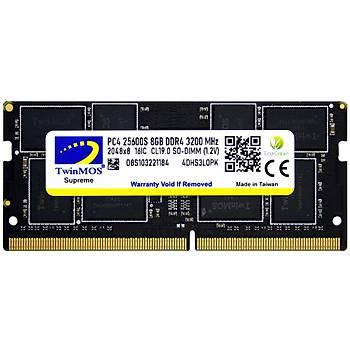 TwinMOS DDR4 8GB 3200MHz Notebook Ram