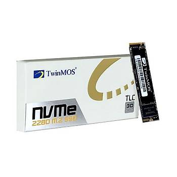 TwinMOS 1 TB M.2 PCIe NVMe SSD (2455Mb-1832Mb/s) 3D NAND