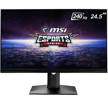 MSI OPTIX MAG251RX 24.5'' Full HD IPS 240Hz 1ms G-Sync Hdmý Dp Type C HDR Ready Esports Gaming Monitör