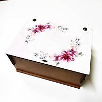 Hediye Kutusu - Çiçek Çelenk