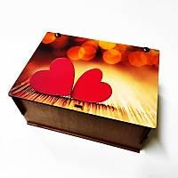 Hediye Kutusu - Çift Kalpli