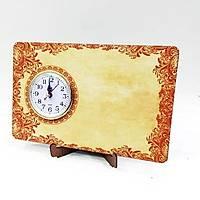 Masaüstü Saat Yatay Baskýlý Model 5