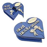 Kalpli Kutu Küçük - Mavi